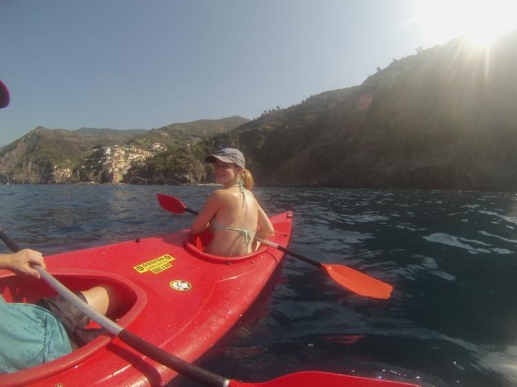 Cinque Terre Kayaking