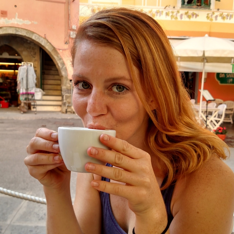 Coffee in Vernazza