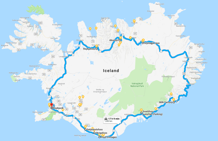 7-Day Iceland Ring Road Trip Itinerary – Frequent Flyer Files on iceland ring road length, iceland black population, golden circle reykjavik map, reykjavik tourist map, iceland points of interest maps, iceland ring road bridge, pacific coast highway 1 california map, iceland daylight chart, iceland tours, iceland itinerary, iceland road trip, iceland scenery, greenland road map, iceland stocks, west iceland road map, confederate states of america map, iceland scenic views, iceland f roads, iceland tourism, western canada map,